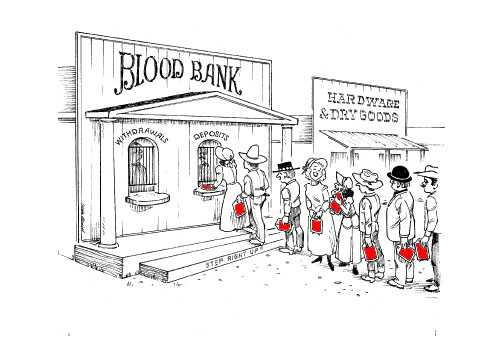How Blood Donation SHOULD be!