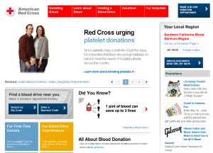 """Red Cross Home Page"""