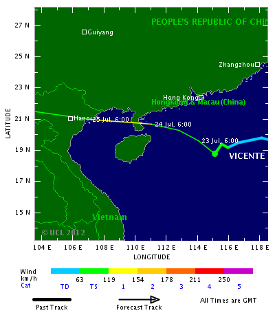 """Tropical Storm Vicente; Photo from http://www.trust.org/"""