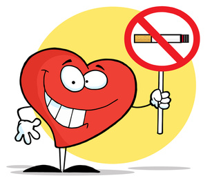 """One way to maintain a healthy heart is to quit smoking."""