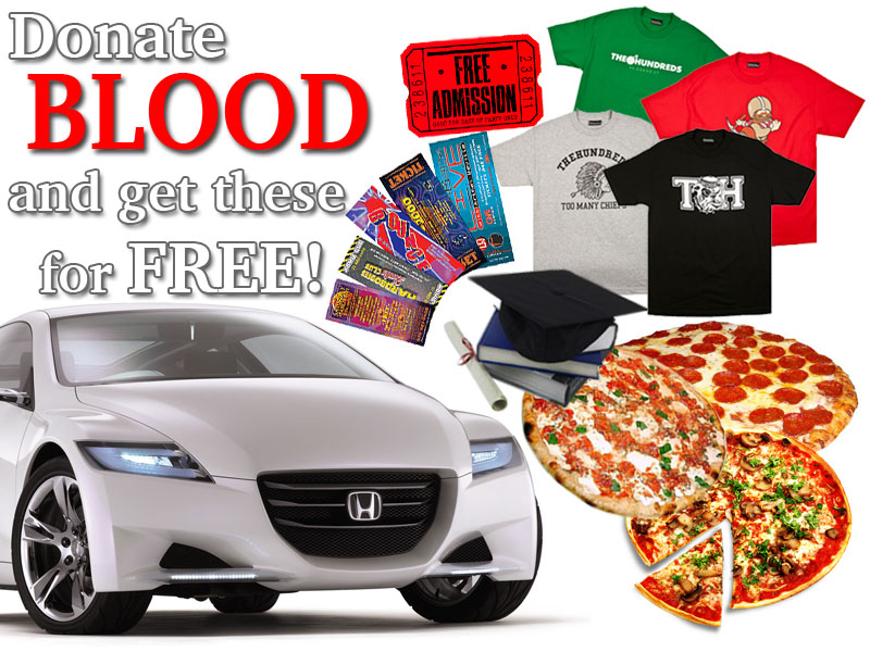 """Incentives for Blood Donation"""