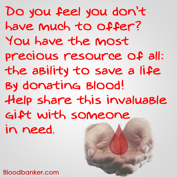 Call for blood donation
