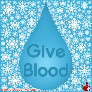 """Make you life count. Give blood."""
