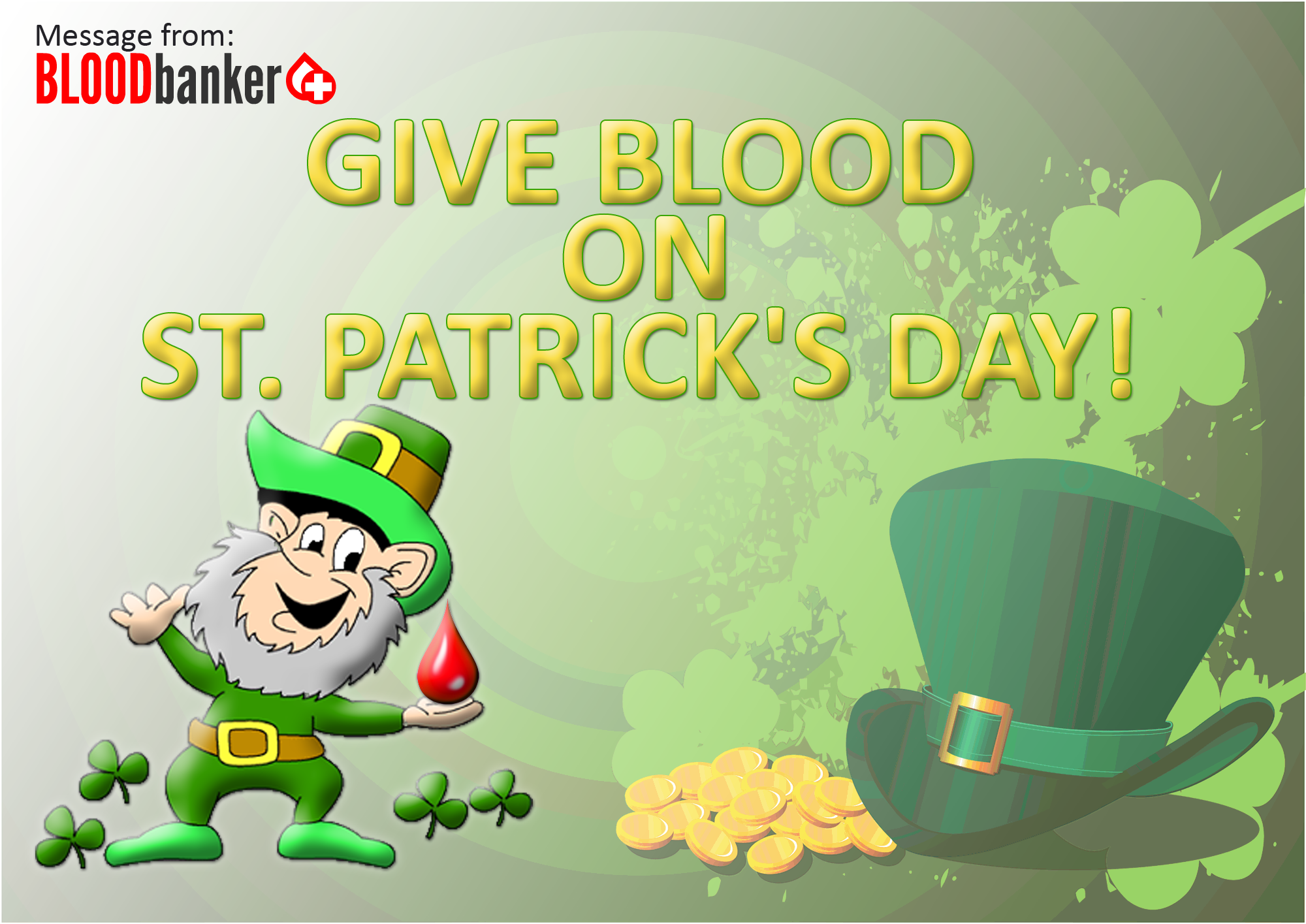 """""""People encouraged to donate blood on St. Patrick's Day"""""""