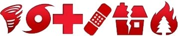 Red Cross App Icons