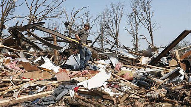 Tornado in Oklahoma City (Photo Credit by Fox News)
