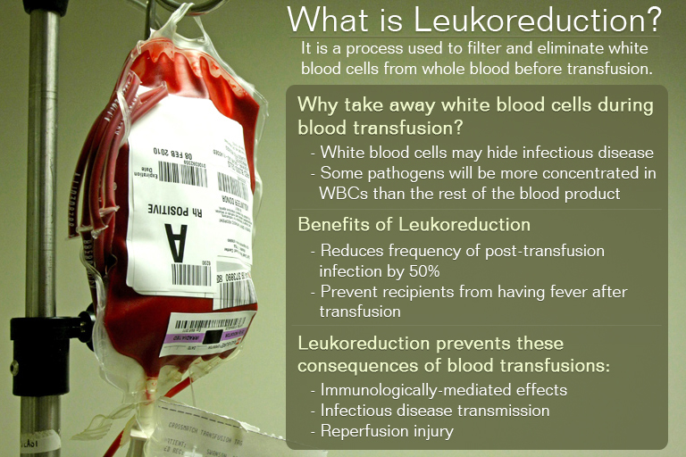 What is Leukoreduction