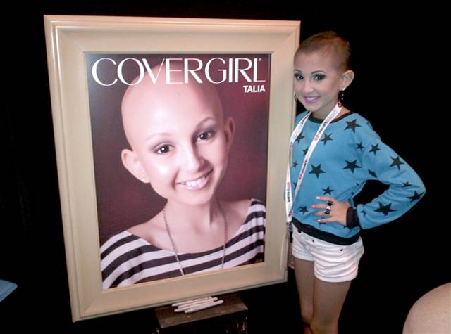 Talia succumbed to neuroblastoma and preleukemia